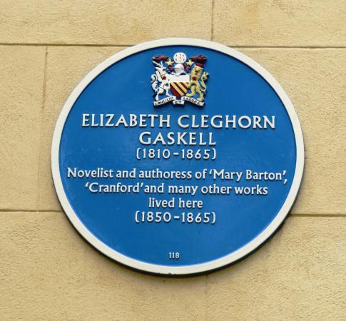 Elizabeth Gaskell Blue Plaque