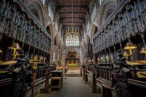 Inside of Manchester Cathedral
