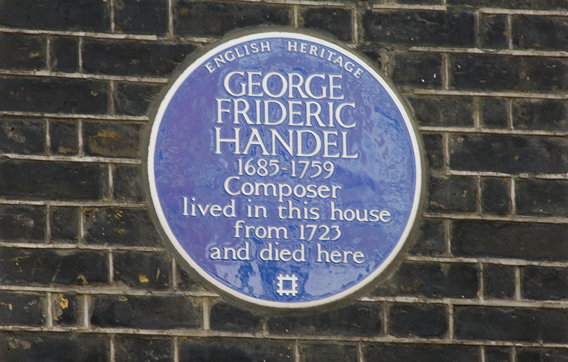 Blue plaques London history