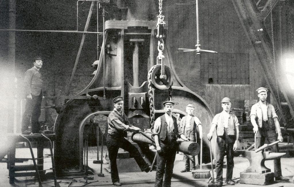 Men working at Coalbrookdale