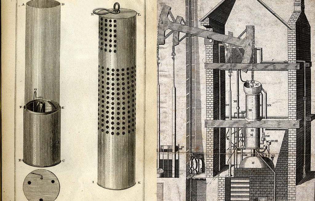 George Stephenson's Safety Lamp