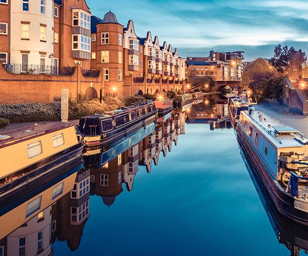 Canals, Birmingham