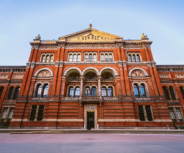 Front of the Victoria and Albert Museum