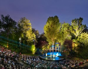 Regent's Park outdoor theatre