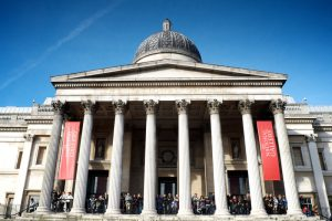 The National Gallery, Trafalgar Square, London