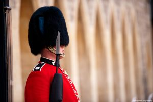 A soldier of the Queen's Guard