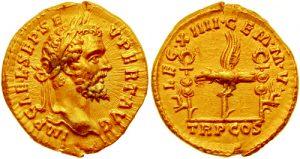 Aureus Septimius Severus roman aureus