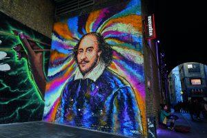 Shakespeare Mural Bankside