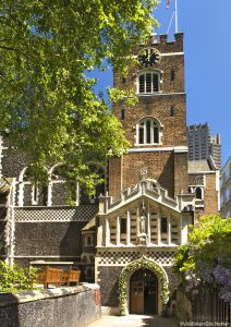 St Bartholomew the Great Church, the second oldest church in London.