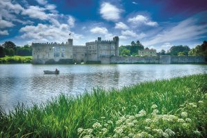Leeds Castle from lake