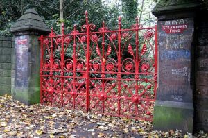 Strawberry Fields gate