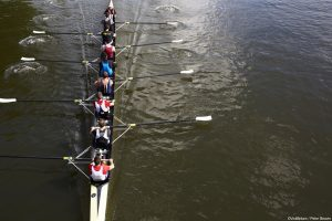 Boat race on the river Thames