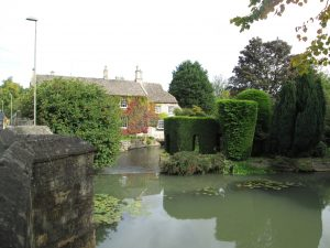 The river as you leave Burford, Oxfordshire