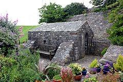 St Trillos Chapel, Rhos on Sea, near Llandudno in North Wales
