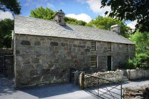 Yr Ysgwrn farmhouse, in Snowdonia National Park