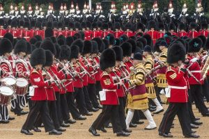 Trooping the colour Guards Musicians