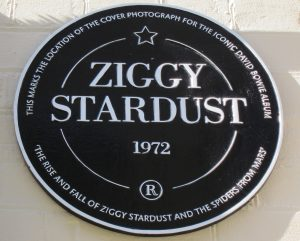 Ziggy Stardust plaque