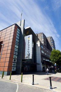 Birmingham city centre. The Hippodrome.