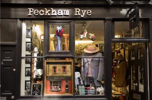 Shop front of Peckham Rye