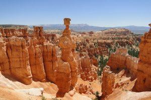 Natural rock formations called Hoodoos, Bryce Canyon, USA