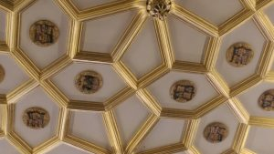 Ceiling of The Great Watching Chamber, Hampton Court Palace