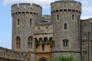 Close up of Windsor Castle