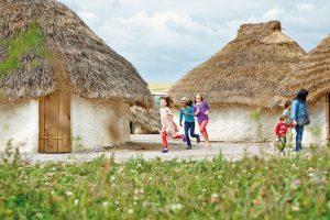 Stonehenge Neolethic Huts