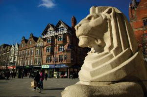 Two Lions, Nottingham Old Market Square