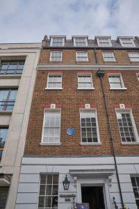 A house on Savile Row