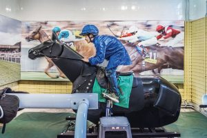 Simulator at the National Heritage centre for horseracing