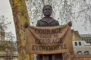 Statue of Millicent Fawcett in London