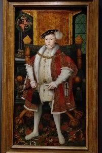 painting of a Tudor boy