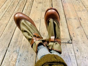 Boots made by Tricker's for Child of the Jago