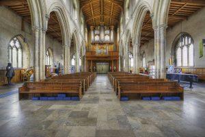 St Giles interior