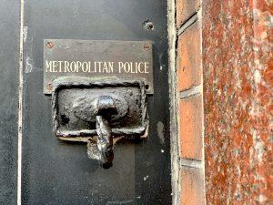 Metropolitan Police sign