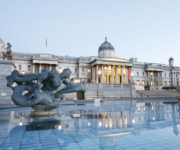 national gallery trafalgar square london